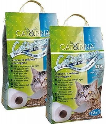 Asternut Igienic - Celuloza - Cat&Rina - 12 L - 1471 foto