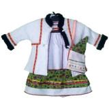 Costum popular Oas pentru botez fetite 1-3 luni