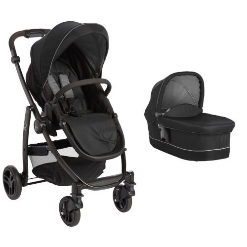 Carucior Evo II 2 in 1 Black Grey