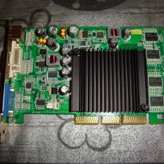 Placa video Nvidia Geforce 6200 AGP 8x 256MB DDR2
