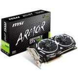 Placa video MSI GeForce® GTX 1060 ARMOR 3G OC, 3GB GDDR5, 192-bit, noua