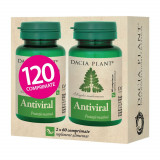 Antiviral Pachet 1+1 gratis , 60 comprimate, Dacia Plant