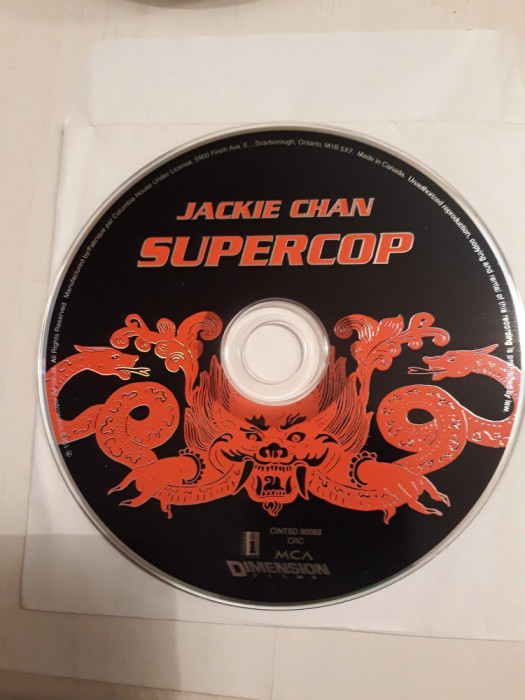 SUPERCOP(JACKIE CHAN) - MUSIC FROM PICTURE  CD