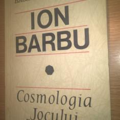 "Basarab Nicolescu - Ion Barbu - Cosmologia ""Jocului secund"" (1968)"