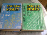 DICTIONAR TEHNIC ENGLEZ ROMAN 2 VOLUME