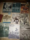 Set 9  Reviste Stadion si Sport anii '47,'48 ,49,'71 -Meciuri Internationale Rom