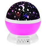 Proiector stelute Star Master, 4 x LED, USB, functie rotatie