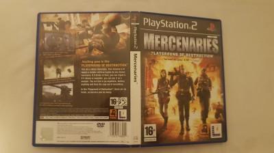 [PS2] Mercenaries Playground of Destruction - joc original Playstation 2 foto