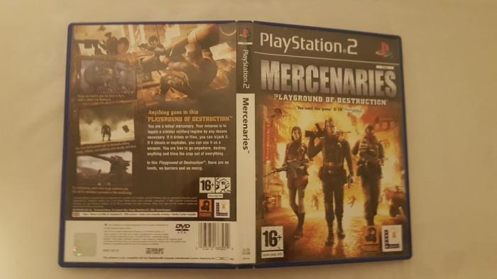 [PS2] Mercenaries Playground of Destruction - joc original Playstation 2