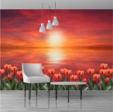Fototapet cu flori 397 x 262 cm - Tapet premium cu adeziv