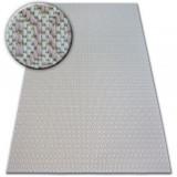 Covor sisal Flat 48603/526 Ochi crem roz, 200x290 cm, Dreptunghi