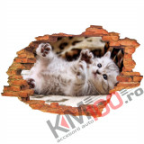"Sticker ""Wall Crack"" Cat 12 - 120 x 80 cm"