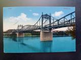 AKVDE20 - Carte postala - Vedere - Arad - Podul de fier, Circulata, Printata