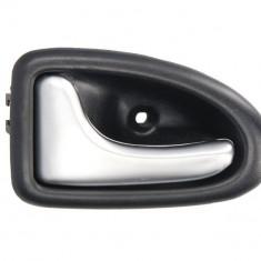 Maner usa fata spate stanga interior, crom, RENAULT CLIO, MEGANE, TRAFIC intre 1996-2014