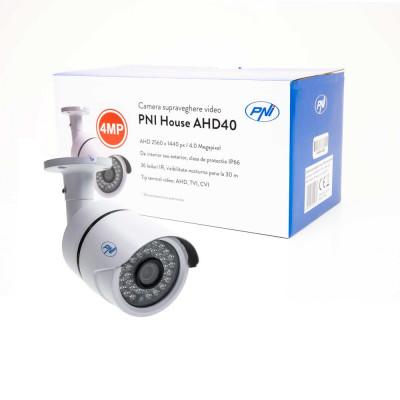Resigilat : Camera supraveghere video PNI House AHD40 4MP IP66 36 led 3.6mm de ext foto