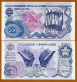 = IUGOSLAVIA – 500 000 DINARA – 1989 – UNC   =