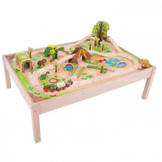 Masuta cu trenuletul dinozaurilor PlayLearn Toys
