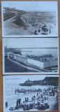 3 carti postale interbelice , plaja Movila