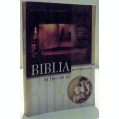 BIBLIA IN FIECARE ZI DE BENONE BURTESCU , 2003