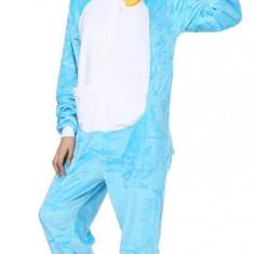 PJM185-441 Pijama intreaga model blue cat