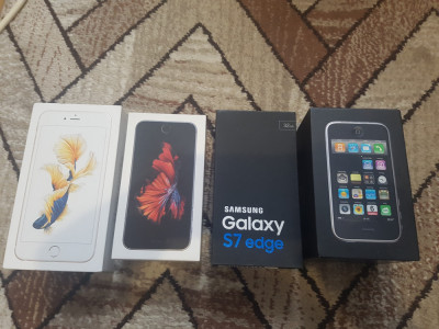 CUTIE TELEFON:IPHONE 6S PLUS,IPHONE 6, IPHONE 3G SI SAMSUNG GALAXY S7 EDGE foto