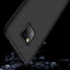 Husa Huawei Mate 20 Pro Acoperire Completa 360 De Grade Neagra