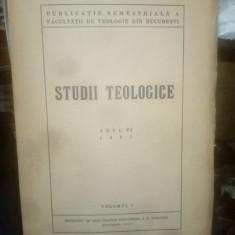 Studii teologice 1937