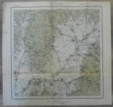 Kezdi-Vasarhely (Targu Secuiesc)// harta Serviciul Geografic Armatei 1916