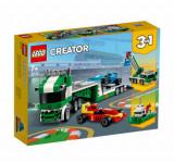 Cumpara ieftin LEGO Creator 3 in 1 - Transportor de masini de curse 31113