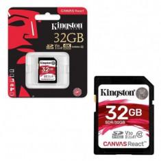Secure digital card kingston 32gb sdhc clasa 10 uhs-i 100mb/s