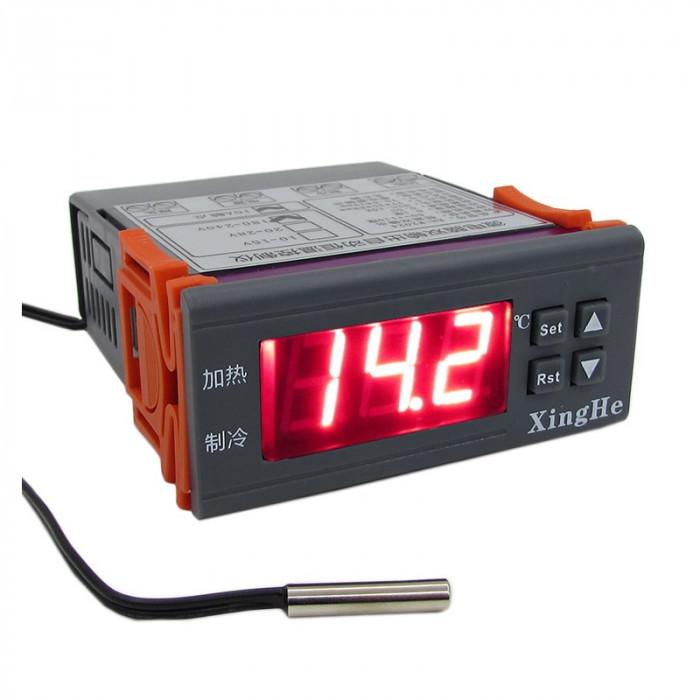 Controller de Temperatură cu o Ieșire pentru Încălzire și o Ieșire pentru Răcire W2024 (12 V)