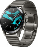 Smartwatch Huawei Watch GT 2, 46mm, Titanium Gray, Otel inoxidabil, Gri