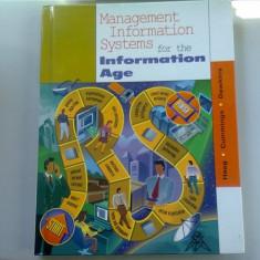 MANAGEMENT INFORMATION SYSTEMS FOR THE INFORMATION AGE - HAAG (SISTEME DE INFORMAȚII DE MANAGEMENT IN FUNCTIE DE VARSTA)