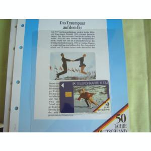 3 Cartele Telefonice 50 Jahre Deutschland - Exponate NOI / 18