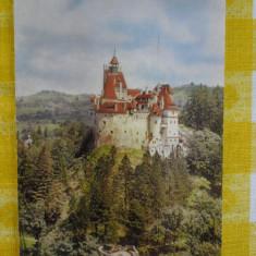 Bran-Castelul-Panorama -vedere circulata 1963