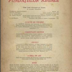 AS - REVISTA FUNDATIILOR REGALE, ANUL XIV, NR. 10-11, OCT.-NOV. 1947