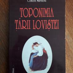 Toponimia Tarii Lovistei - Costea Marinoiu / R3P4F