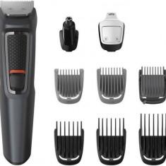 Kit de ingrijire Face Philips MG3747/15 Hair & Body 9 in 1 Multigroom Fara fir 70 min Negru/Gri