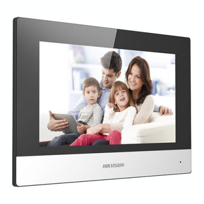 Monitor videointerfon TCP/IP Wireless, Touch Screen TFT LCD 7inch foto