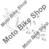 MBS Surub cric M8X20 KTM 250 EXC-F SIX DAYS (EU) 2011 #9, Cod Produs: 0019080206SKT