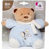 Plus Bebe Ursulet 15 cm cu Zornaitoare Albastru