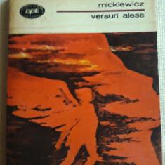 Versuri alese - Mickiewicz