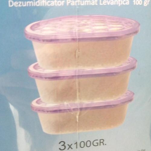 Set dezumidificatoare cu aroma de lavanda