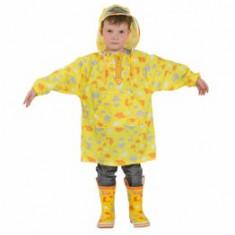 Pelerina de ploaie pentru copii YY03 Galbena S