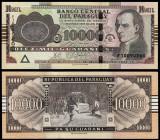 Paraguay 2010 - 10000 guaranies UNC