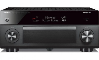 Yamaha AVENTAGE AV receiver RX-A3070 BLACK, 11.2 canale, UHD 4K, Dolby Atmos foto