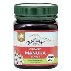 Miere de Manuka Bio MGO 250+ 250gr TranzAlpine Cod: 420017