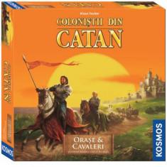 Colonistii din Catan -Extensie Orase si Cavaleri