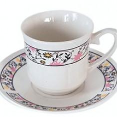 Set cesti cafea si ceai din portelan MN015606 Raki