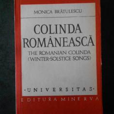 MONICA BRATULESCU - COLINDA ROMANEASCA